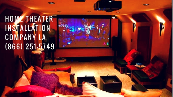 Los Angeles Home Theater Installation Company