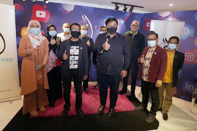Majlis Menandatangani Memorendum Persahaman Di Antara TV Alhjirah Dan Persatuan Animasi Malaysia (ANIMAS)