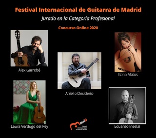 CONCURSO DE GUITARRA MADRID 2020