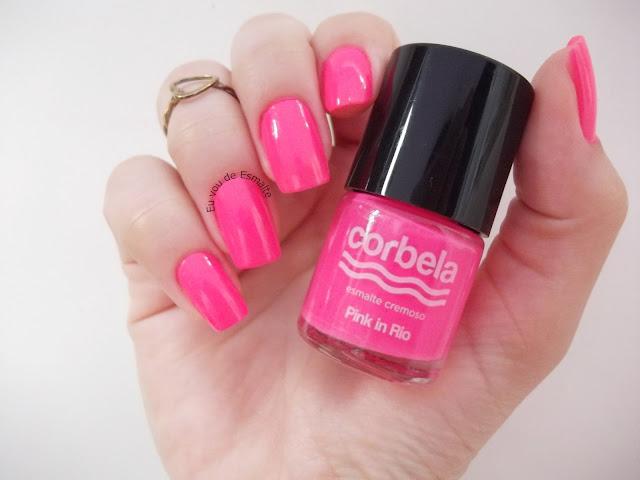 Esmalte Pink in Rio Corbela Brasil