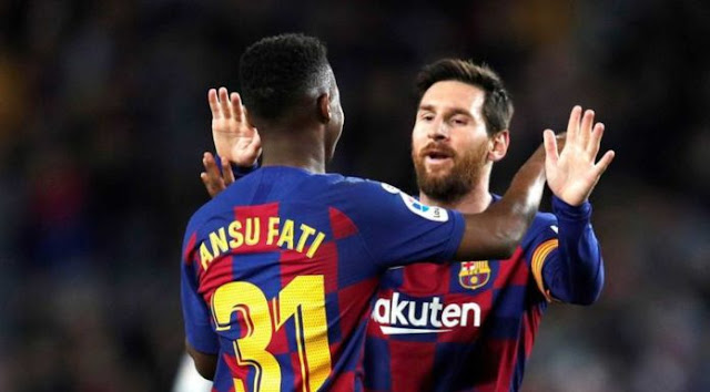 Video Cuplikan Gol: Barcelona 2-1 Levante (LaLiga)
