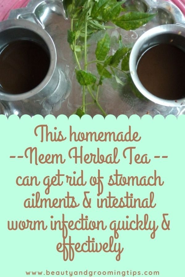 Neem Herbal Tea or Kashayam -- Homemade