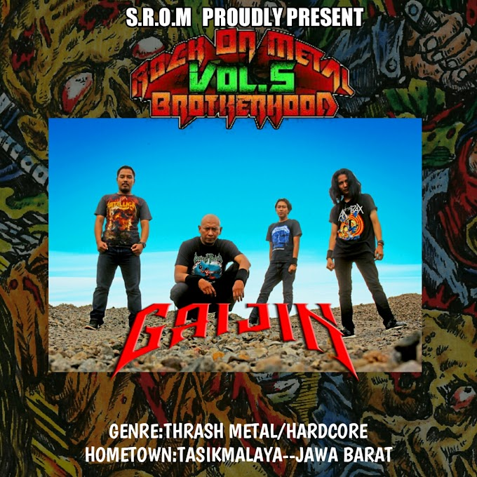 GAIJIN-ROCK ON METAL BROTHERHOOD COMPILATION VOLUME 5