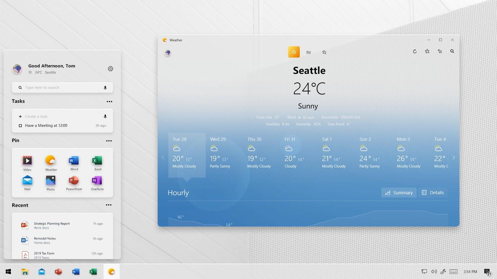 [Aggiornato] Come sarà il nuovo menu Start di Windows 10 senza Live Tile
