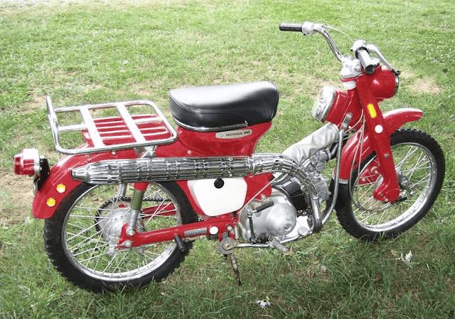 1966-1968 Honda CT90