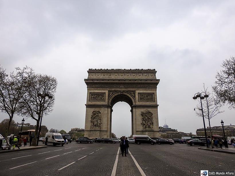 Arco do Triunfo - O que fazer em Paris: principais pontos turísticos