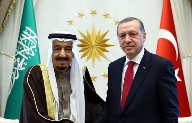 قمة مجموعة العشرين: مقابلة هاتفية بين ملك السعودية والرئيس أردوغان