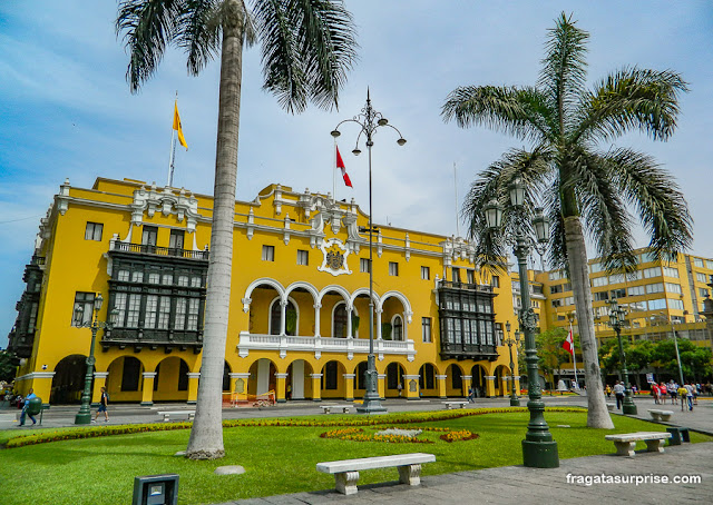 Praça de Armas, Lima, Peru