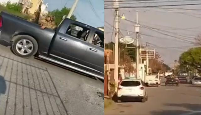 Video; Ahora como Marinos, Sicarios de Las Tropas del Infierno del CDN son captados patrullando en N. Laredo, Tamaulipas