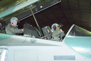 Latihan Night Vision Goggles (NVG) Pesawat T-50i