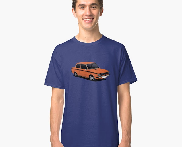 DAF 66 Super Luxe saloon, T-shirt