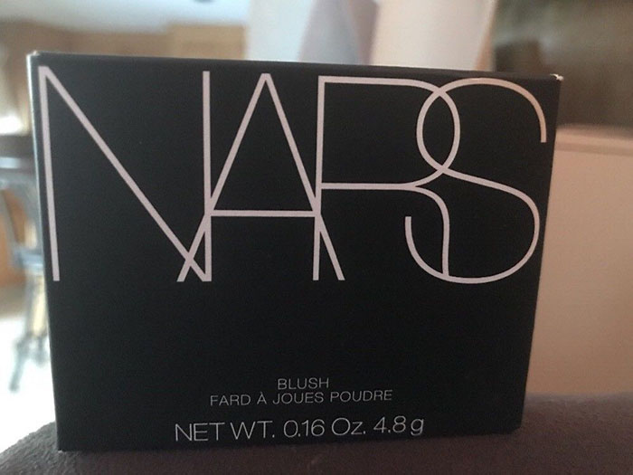 NARS Orgasm Blush packaging