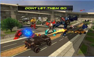 Game Monster Robot Transformation App