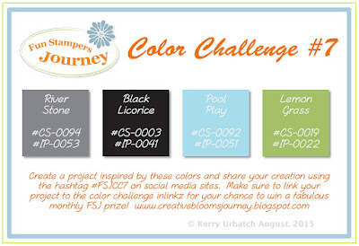 August 2015 Color Challenge