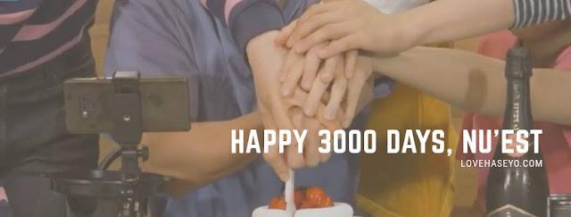 Happy 3000 Days, Nu'est