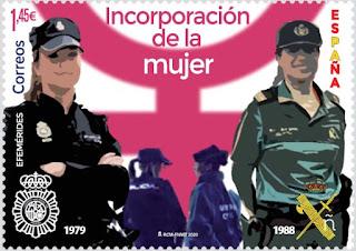 Incorporación de la mujer a Policía Nacional y G. Civil