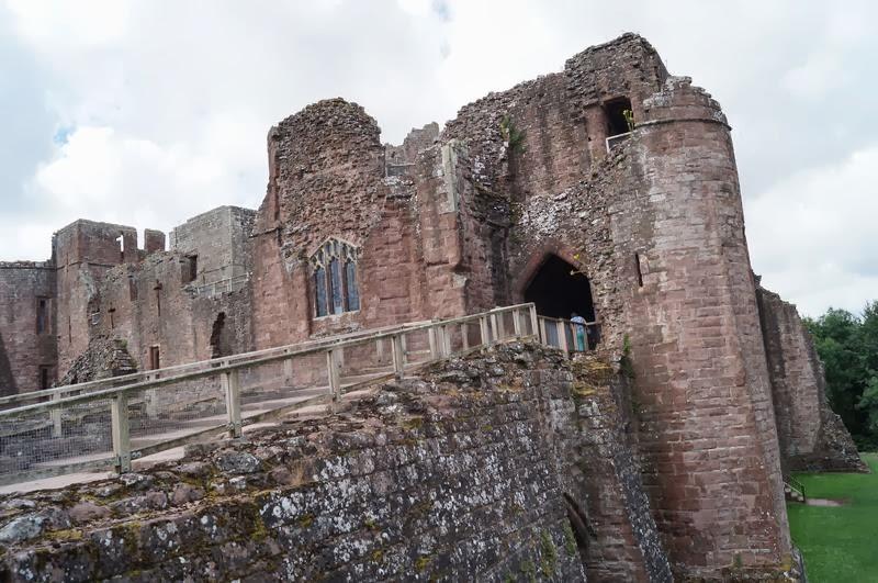 castillo de Goodrich, castillo de godrich, castillos medievales, castillos ingleses,
