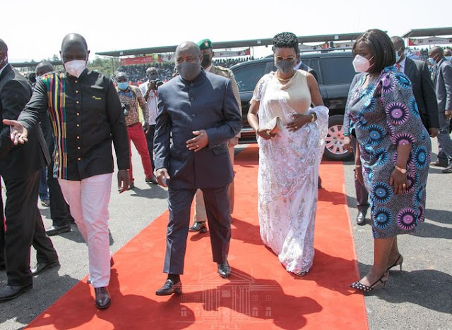 Deputy President William Ruto in Kisumu photo