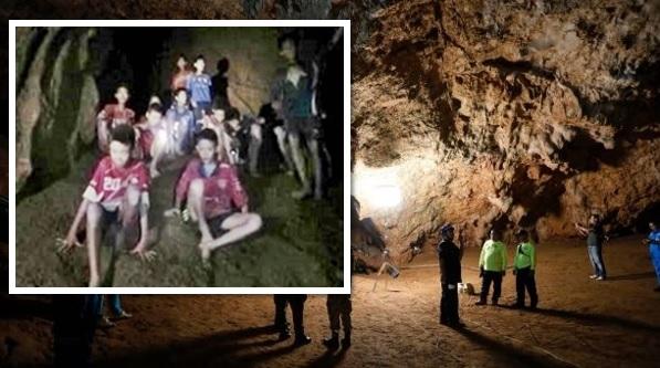 (VIDEO) 10 Hari Hilang, Akhirnya 12 Kanak-Kanak & Jurulatih Ditemui Selamat Terperangkap Dalam Gua..