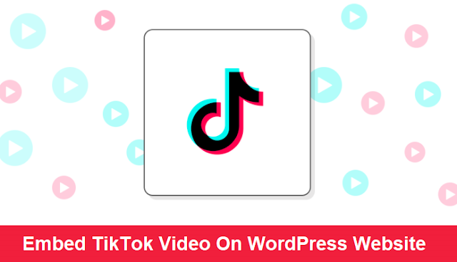 Embed TikTok Video in WordPress Website -