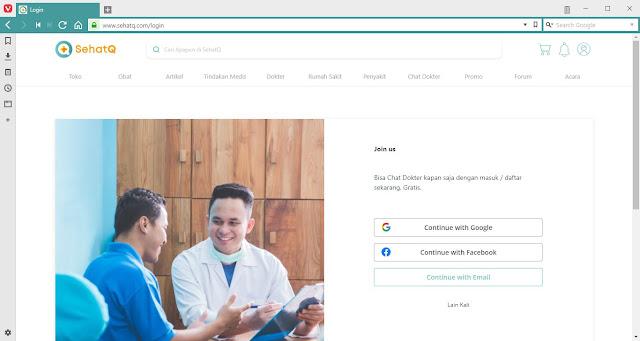 Daftar Chat Dokter di SehatQ.com