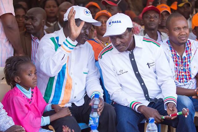Odinga Amelishtumu Jeshi la Polisi Kupokonywa walinzi