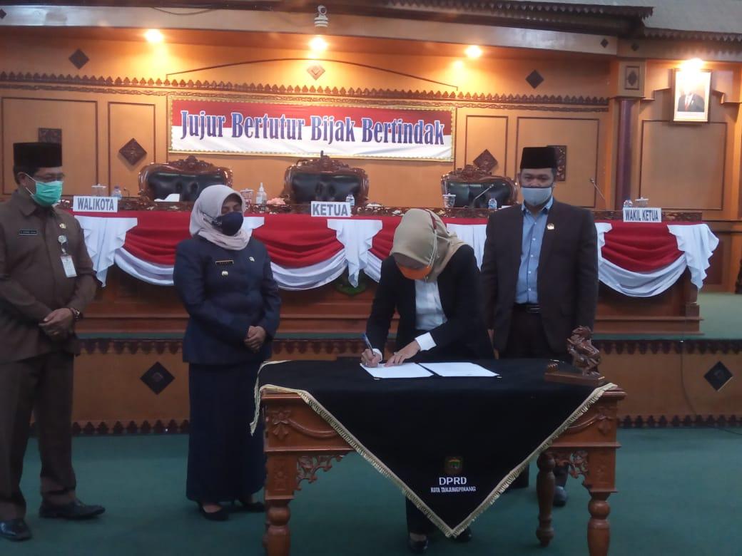 APBD P Tanjungpinang TA 2020 Disahkan, Ini Pesan Rahma Kepada Seluruh SKPD Kota Tanjungpinang.