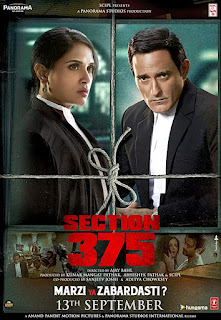Section 375 (2019) Hindi Movie Pre-DVDRip | 720p | 480p