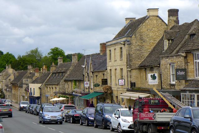 Burford high street shops, Cotswolds
