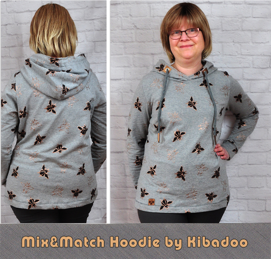 Mix & Match Hoodie by Kibadoo