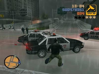 لعبة جاتا GTA 3 للكمبيوتر من ميديا فاير