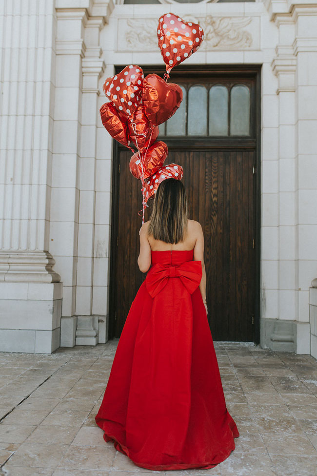 Red Soles and Red Wine, red jumpsuit, Best Valentine's Day Outfit, Jennifer Worman, Chicago Style Blog, Valentine's Day Style, Alexa Maria Red Dress