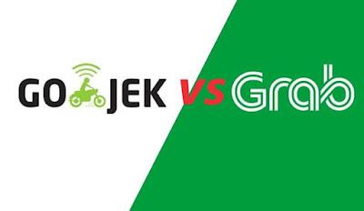 Gojek vs Grab siapa yang akan menang?