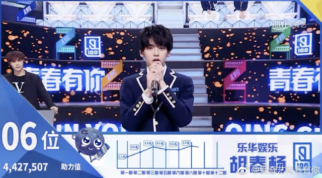 idol producer 2 qing chun you ni hu chunyang