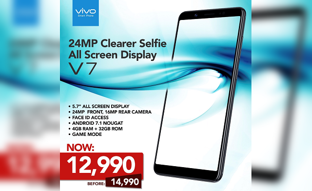 Vivo V7 Price Drop