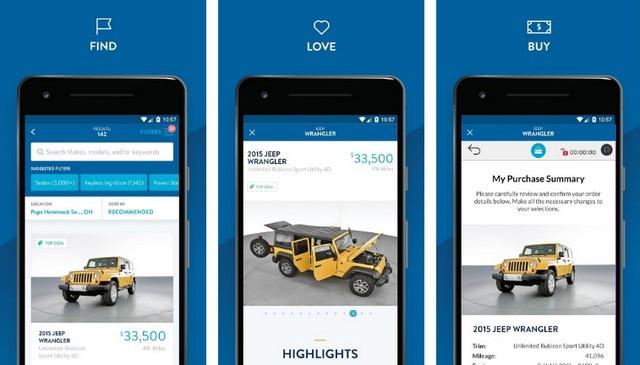 أفضل تطبيق تسوق سيارات للأندرويد