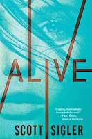 Alive, by Scott Sigler book cover and review