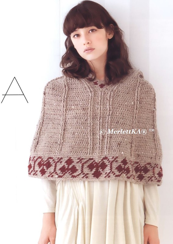 Free Crochet Pattern For Shawl With Sleeves : How to crochet: Crochet Patterns for free crochet ...