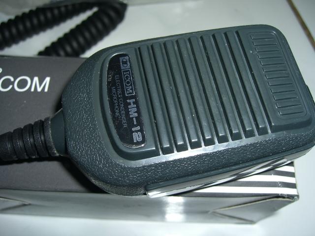 MICROPHONE ICOM HM-12 ~ SAE HOBBIES communication jual ...