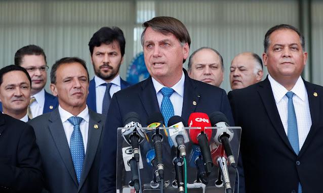 Jair Bolsonaro - Coletiva