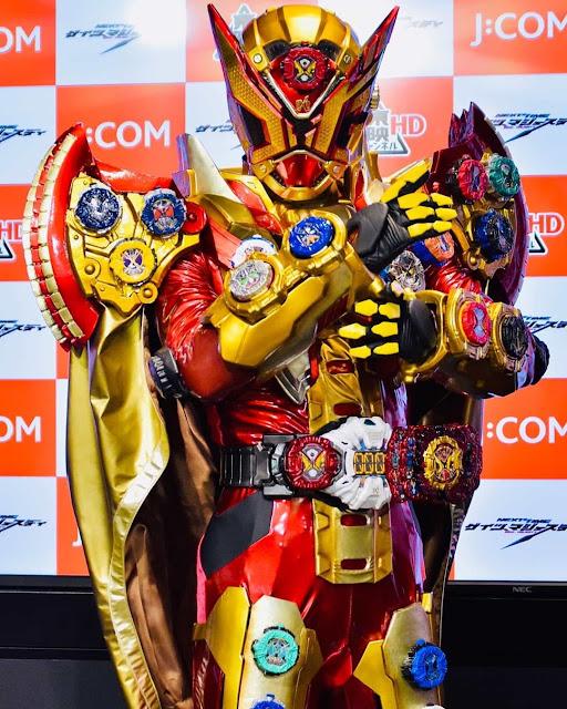 Kamen Rider Geiz Majesty Hiress Images!