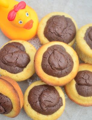 Petits moelleux vanille-chocolat façon Tam Tam