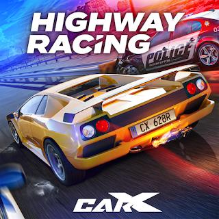 لعبة Carx highway racing مهكرة للاندرويد