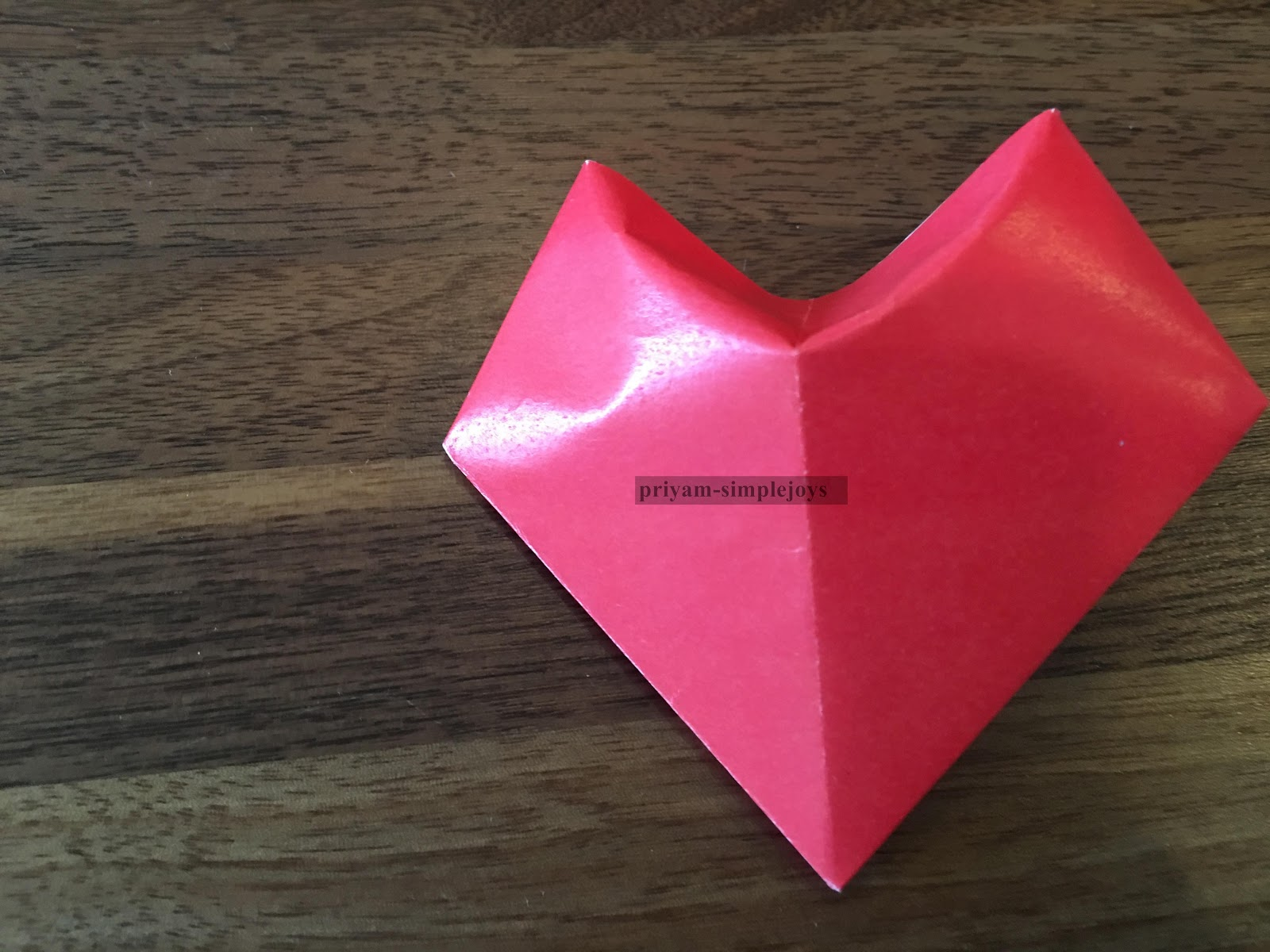 SimpleJoys: 3D Origami Paper Heart - photo#33