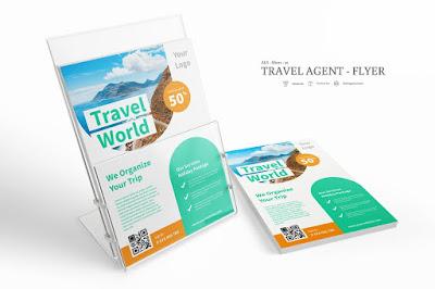 Contoh brosur travel agent