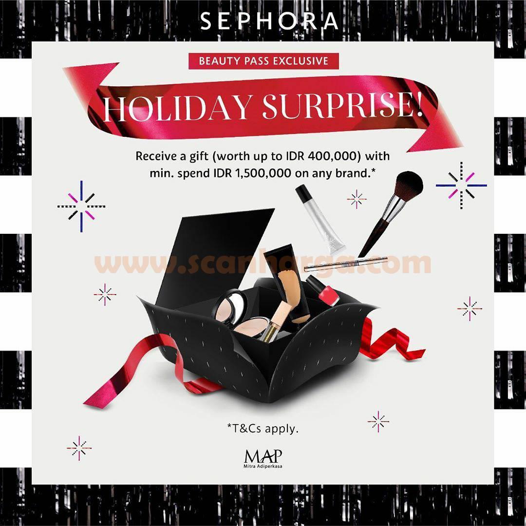 SEPHORA Promo Holiday Surprise!