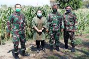 Danlanud Sulaeman Kolonel Pnb M Nurdin Dampingi Waaspotdirga Kasau Survey Lapangan Program Ketahanan Pangan Di Lanud Sulaiman
