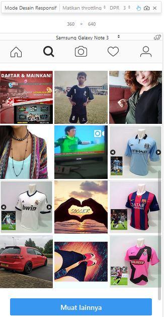 Cara Upload Foto di Instagram Lewat PC/Laptop Tanpa Aplikasi
