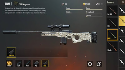 The best sniper on PUBG Mobile
