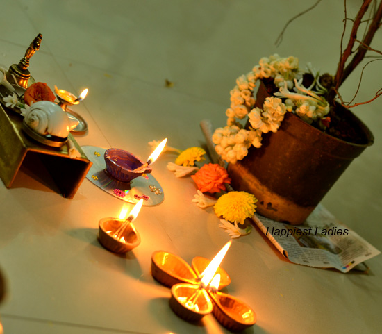 Celebration of Tulasi Pooja